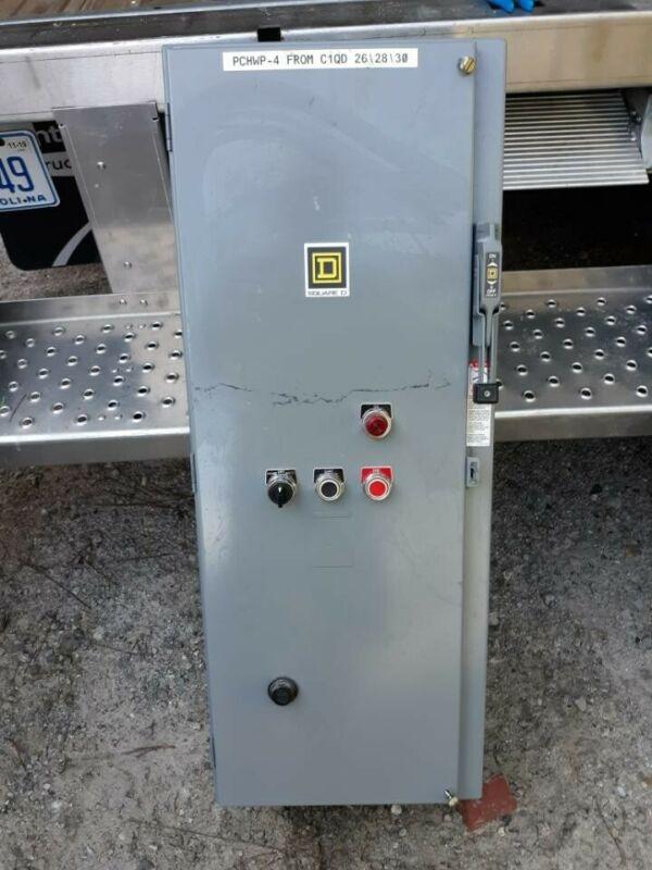 Square D 8536SE01S  Size 3 Combination Motor Starter 100 Amp Fused
