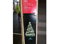 6ft Argos Christmas Tree + Decorations Boxed Set
