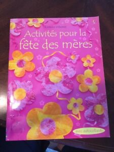 FRENCH Mother's Day kids art book