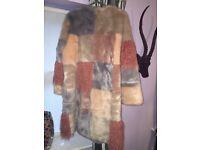 Asos fur coat