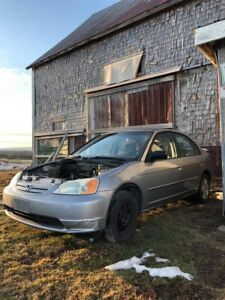 2002 Honda Civic For Parts