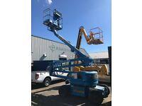 Z45 25 dc genie electric boom lift cherry picker like jlg skyjack