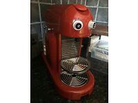 Nespresso Krups Maestria with 69 pods and Mind Reader Pod Holder