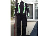 Rst blade motorcycle suit. As new 4 season waterproof with removable armour