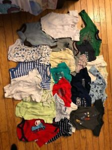 0-3 month boy lot