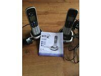 BT2100 Digital Cordless Phone. Dual handsets.