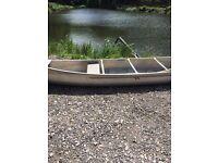 18 Ft Aluminium Canoe