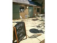 Waiting staff needed for cafe. Burwash Manor