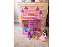 * Barbie Dolls, House and Furniture *
