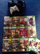 XBOX Slim 320GB + 2 Controllers + 13 Games + Headphones Avalon Pittwater Area Preview