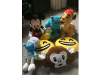 Official Disney Monster Inc sulley Mickey Mouse baby simba smurf
