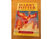 HARRY POTTER AND THE ORDER OF THE PHEONIX. Never read.