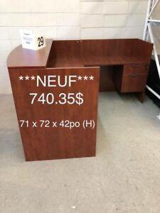 Mobilier neuf / New office desk