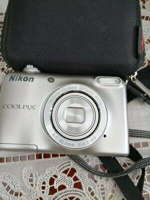 Nikon COOLPIX L29 16.1MP Digital Camera -SLIVER