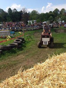 Tracteur de course