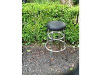 Chrome kitchen stools