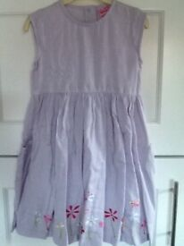 NEVER WORN 3-4 yrs girls lilac/lavender summer dress