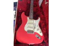 Limited Edition Custom Shop '63 Fender Stratocaster - Fiesta Red - Light Relic
