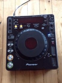 PIONEER CDJ-1000 INDUSTRY STANDARD CD PLAYER FAULTY SCREEN