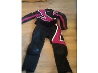 Ladies motor bike suit