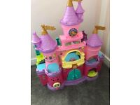 Toot toot castle and unicorn