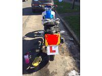 Lexmoto venom 125 motorbike
