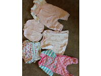 Baby girl bundle 0-3 month all from Next, M&S etc