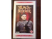 Full set of Black Adder Videos.