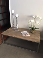 BRAND NEW LARGE SOLID HARDWOOD INDUSTRIAL CHIC COFFEE LAMP TABLES!!! Casuarina Kwinana Area Preview