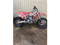 2013 HONDA CRF 450 IMMACULATE CONDITION BEEN VERY WELL MAINTAINED