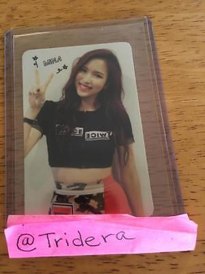 Twice The Story Begins 1st Mini Album Mina Adult Photo Card KPOP Official ONCE