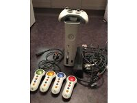 Xbox 360 (fault hard drive) and accessories