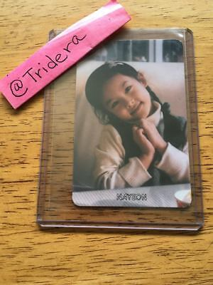 Twice The Story Begins 1st Mini Album Nayeon Baby 1 Photo Card KPOP Official