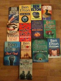 12 Ben Elton Books - Stark, Gridlock, This Other Eden, Popcorn, Blast from the Past, Dead Famous...