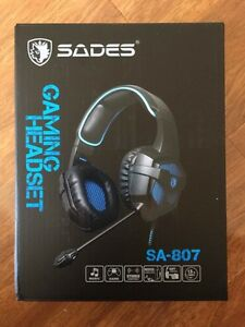Brand New Sades Gaming Headset For PS4/XBOX ONE & PC