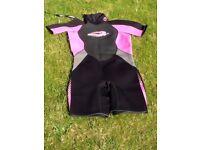 Girls/Ladies Shorty Osprey Wetsuit.
