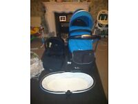 Silver cross pram,carrycot,buggy and carseat parts