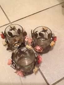 Beautiful candle or Tealight holders