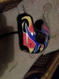 AGV Skema full face crash helmet, size 58cm.