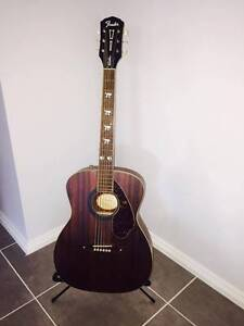 Fender Hellcat Acoustic with case Riverstone Blacktown Area Preview