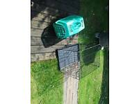 Small dog cage and carrier