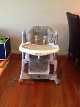 Infasecure 'sienna' high-low high chair Hope Island Gold Coast North Preview