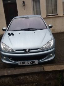 Peugeot 206 convertible 1.6 hdi turbo diesel years mot . Absolutely stunning. Low mileage