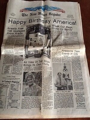Bicentennial July 4Th Edition New Haven Register