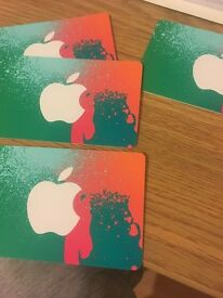 Itunes gift card for sale