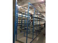WAREHOUSE RACKING DOUBLES AND SINGLES