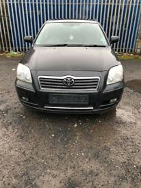 Breaking * TOYOTA AVENSIS - 2.0 D4D 2004