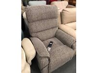 High retail rise and recline armchairs