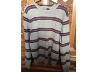 Ralph Lauren striped cotton sweater,as new condition, size M