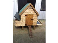 hen coops for sale 4x4 £120 pic two 6x5 £200 pic 3 4x4 with 8x4 run is£240